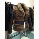 Удобная в носке, практичная норковая куртка из новой коллекции весна 2015