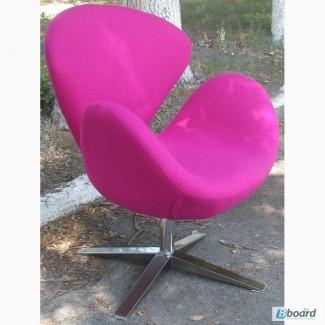Кресло Swan (Лебедь) ткань шерсть, дизайнерское кресло СВ (Swan) дома, кафе, офиса, студии