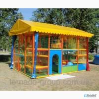 Детский уличный лабиринт Небесный домик