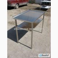 Стол производственный с полкой СПП 1000х600х850