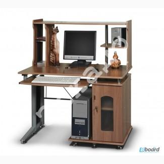 Стол компьютерный стеклянный на заказ, компьютерный стол со стеклянной столешницей