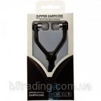 Продаю наушники с микрофоном змейка Zipper New black