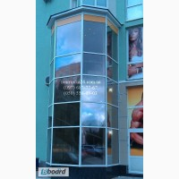 Тонировка окон зданий, тонирование стекол фасадов