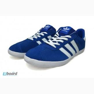Мужские кроссовки Adidas Gazelle (Blue)