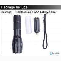 Продам сверхяркий светодиодный фонарик 2000 lumen люмен cree XML-T6