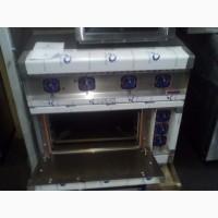 Плита электрическая на 4 конфорки с духовым шкафом Абат