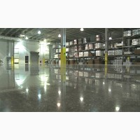 Шлифовка бетонного пола, ремонт промышленных полов