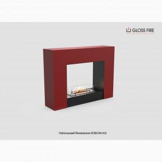 Напольный биокамин EDISON-m2 ТМ Gloss Fire