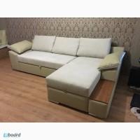 Угловой раскладной диван, обивка на выбор