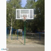 Стойка баскетбольная стационарная уличная