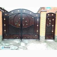 Ворота евроограждения двери решетки навесы и др