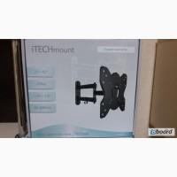 Крепление для телевизора LCD до 25 кг, ITECH LCD-53B, новое, цвет чёрный