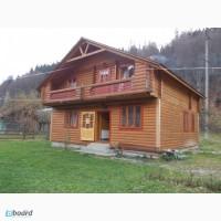11 Татарів Дерев яний двоповерховий котедж на 8 осіб (4 кімнати) будинок під ключ