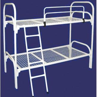 Двухъярусные кровати металлические, Кровати в летний лагерь, недорого, Кровати для турбазы