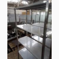 Продам стеллаж пищевой новый 4 полки для столовой