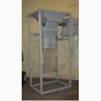 Дозатор весовой бункерный для фасовки топливных гранул, линия фасовки в мешки