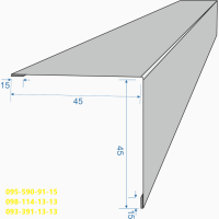 Наружный угол размеры, Размеры внешнего угла, Угол Внешний Всех Размеров