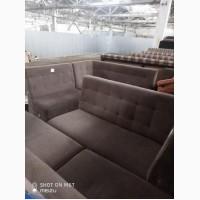 Продам диван б/у п- образный коричневый