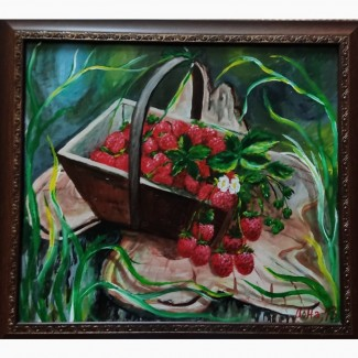 Продам картинуКорзина ягод