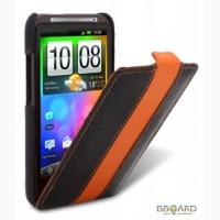 Кожаный чехол Melkco (JT Lim.Ed.) для HTC Desire HD