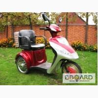 Электроскутер 3х колёсный для инвалидов и пожилых людей и просто для прогулок