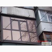 Балкон под ключ, остекление и утепление лоджий