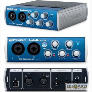 Звуковая карта купить Presonus AudioBox 22VSL