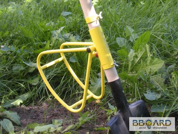 Придуманные приспособы капать землю при помощи бензопилы
