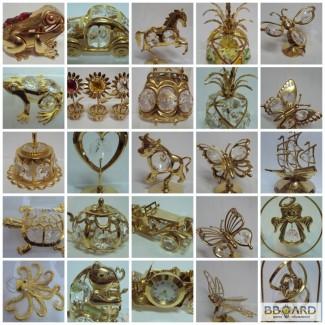 Статуэтки декорированные кристалами swarovski