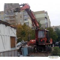 Демонтаж зданий Киев Снос строений