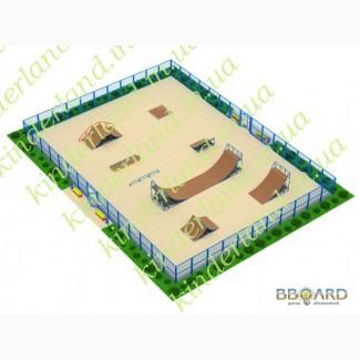 Площадки для скейт-парков и роллердромов