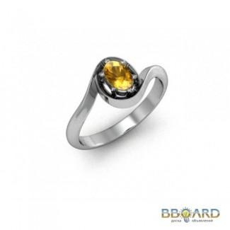 Серебряное кольцо «Загадка».
