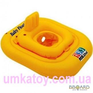 Продам детский надувной круг плот Deluxe intex 56587