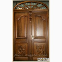 Двери и перегородки из массива дерева в Харькове
