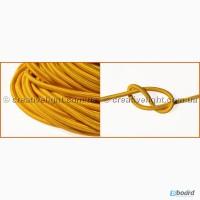 Провод в текстильной изоляции желтого цвета