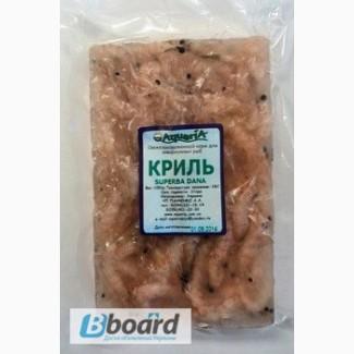 Замороженный корм для аквариумных рыб Криль
