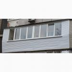 Балкон под ключ, остекление балконов и лоджий