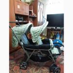 Продам новую детскую коляску для близнецов