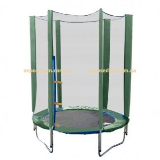 Батут детский Jump-2-Sky 140см зеленый