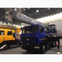 Продажа новых автокранов KC-6572BY-C Машека 40 тонн на шасси МАЗ