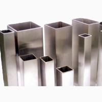 Труба алюминиевая профильная 6060 Т6 квадратная и прямоугольная до 200 мм