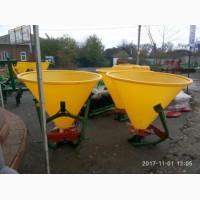 Разбрасыватель минеральных удобрений (пластик) JAR-MET 500 кг (пластиковый бак) Польша