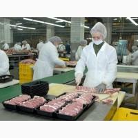 Упаковщик мяса в Польшу