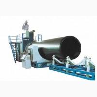 Экструзионная линия производства водоотводных труб из ПЭ/ПНД/ПП Ф200-4000мм