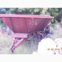 Продам разбрасыватель мин.удобрений прцепной 1-рмг-4 тоны