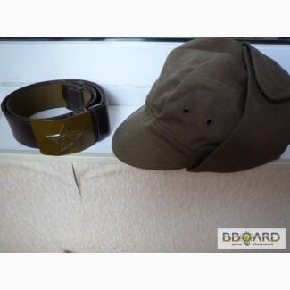 Пилотки, кепки-афганки, сапоги, форма СССР