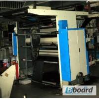 Флексографская двух цветная печатная машина 1000мм