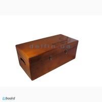 Деревянный ящик для хранения и переноски кораблика