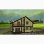 Уникальный каркасный канадский дом из сип панелей от застройщика Харьков