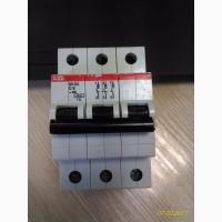 Автоматический выключатель ABB 3-полюсный S203 C6